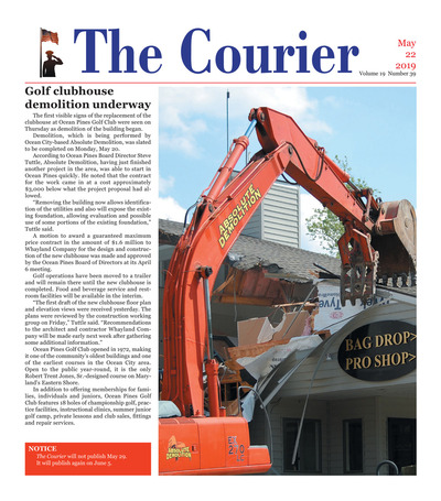 Delmarva Courier - May 22, 2019
