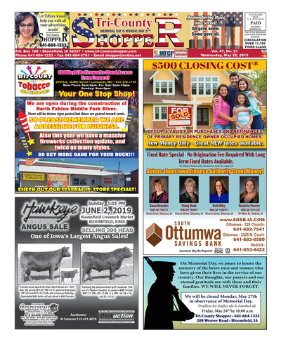 Tri-County Shopper - May 22, 2019