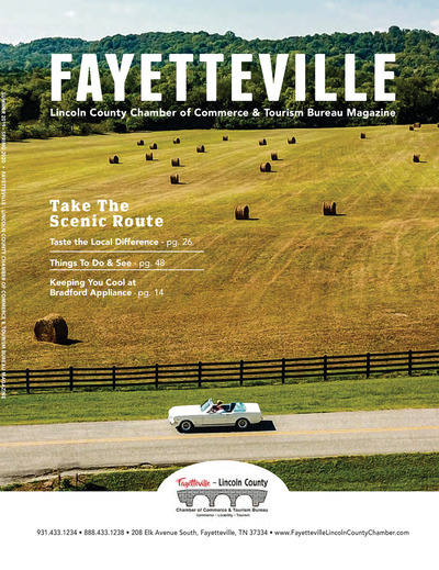 Fayetteville Lincoln County Chamber of Commerce Magazine - 2019 Community Guide