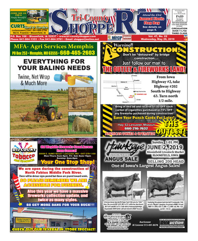 Tri-County Shopper - May 29, 2019