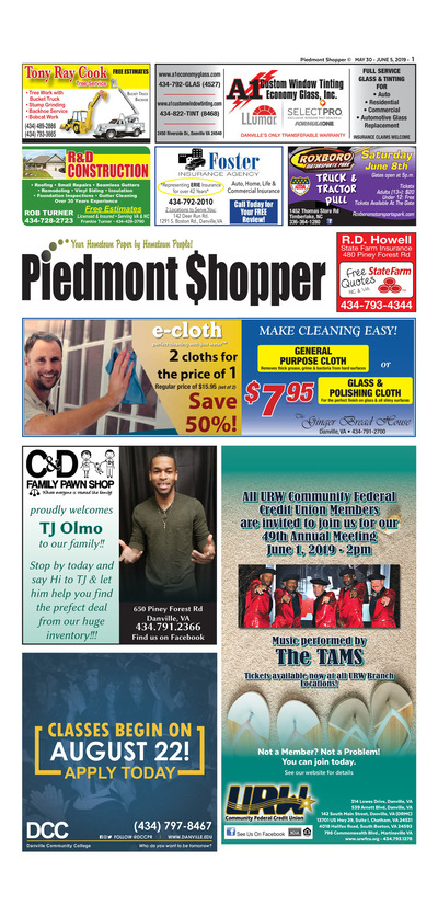 Piedmont Shopper - May 30, 2019