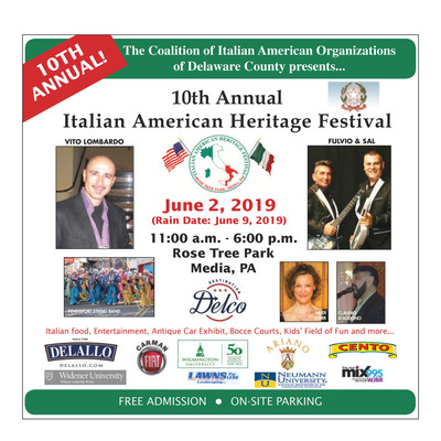 Delco Daily Times - Special Sections - 2019 Italian Festival