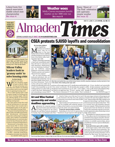Almaden Times - May 31, 2019