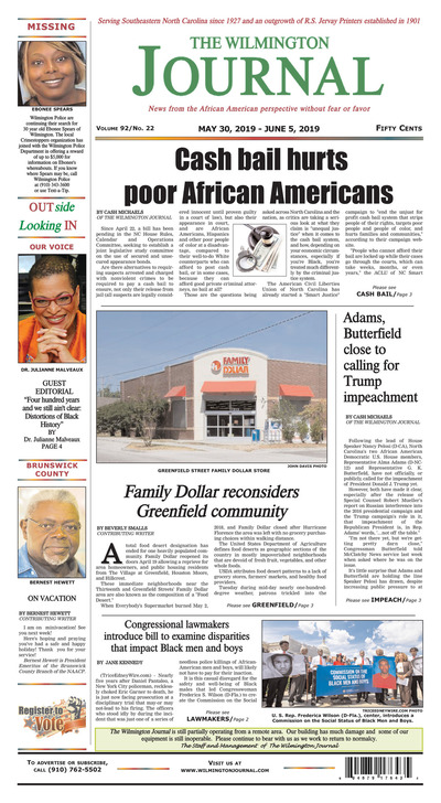 Wilmington Journal - May 30, 2019