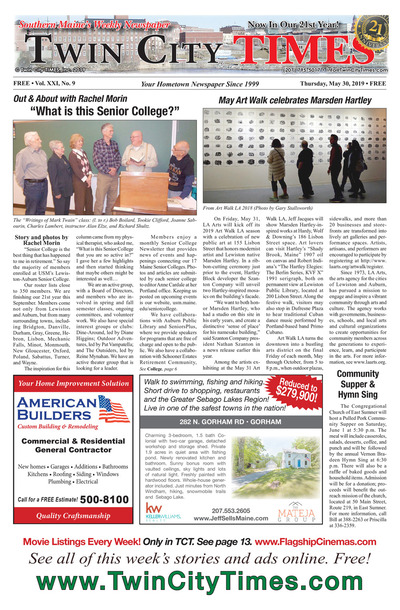 Twin City Times - May 30, 2019