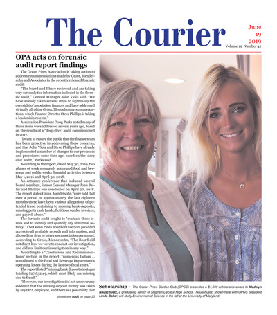 Delmarva Courier - Jun 19, 2019