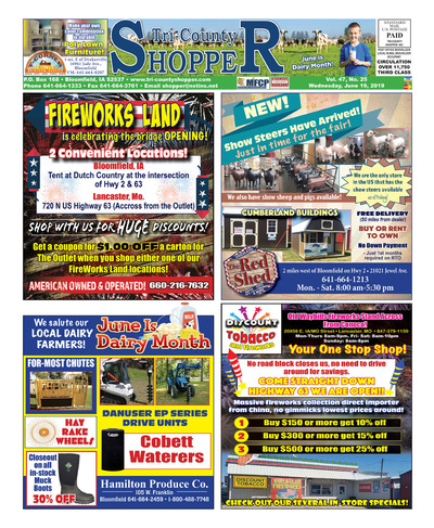 Tri-County Shopper - Jun 19, 2019