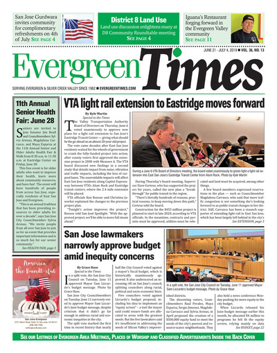 Evergreen Times - Jun 21, 2019