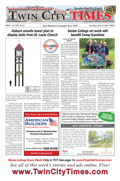 Twin City Times - Jun 27, 2019