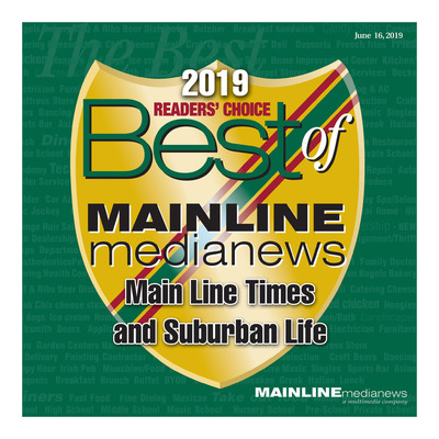 Mainline Media News Special Sections - 2019 Best of the Mainline