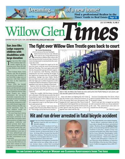 Willow Glen Times - July 2019