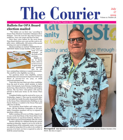 Delmarva Courier - Jul 17, 2019