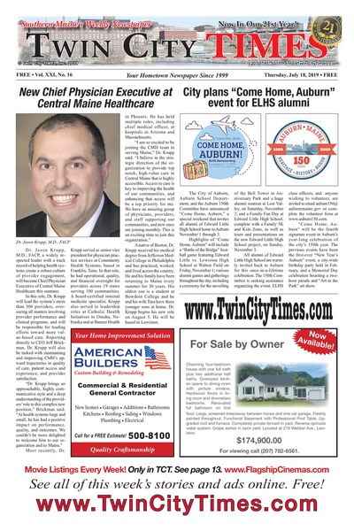 Twin City Times - Jul 18, 2019