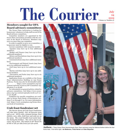 Delmarva Courier - Jul 24, 2019