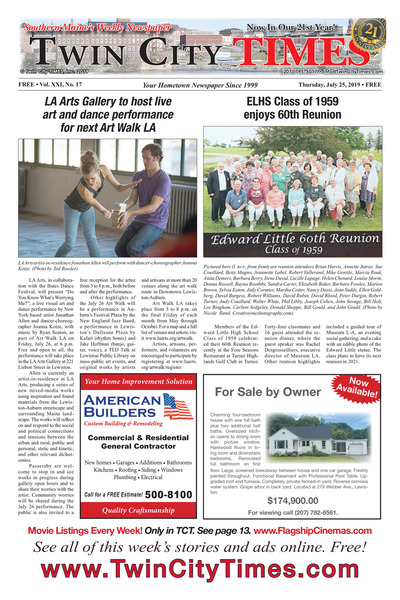 Twin City Times - Jul 25, 2019