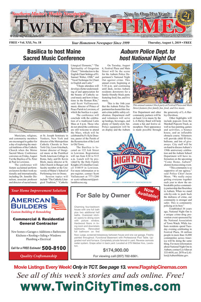 Twin City Times - Aug 1, 2019