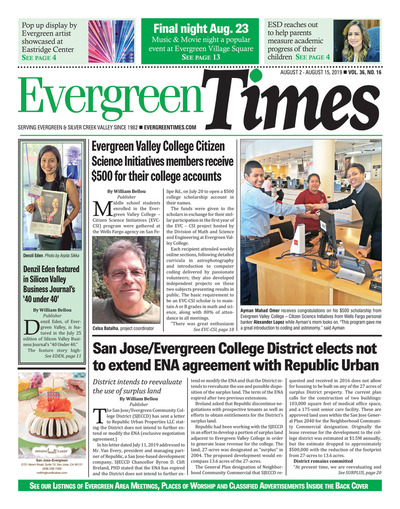 Evergreen Times - Aug 2, 2019