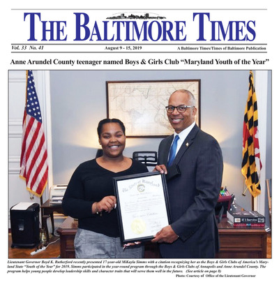 Baltimore Times - Aug 9, 2019