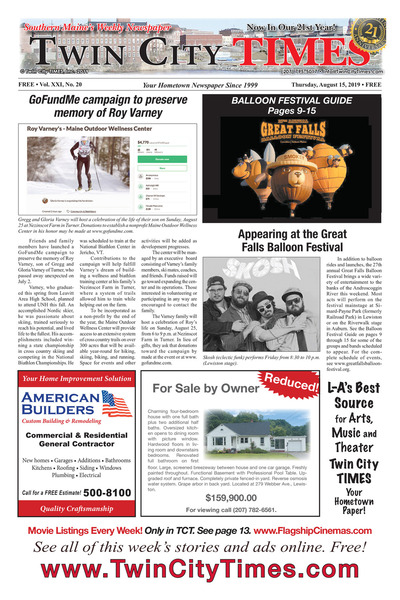 Twin City Times - Aug 15, 2019