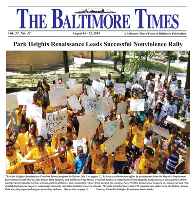 Baltimore Times - Aug 16, 2019