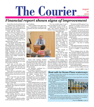 Delmarva Courier - Aug 21, 2019