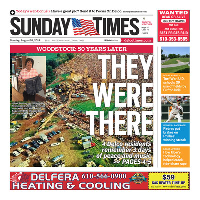 Delco Daily Times - Special Sections - Sunday Times - August 18, 2019