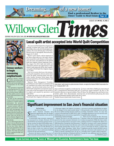 Willow Glen Times - August 2019