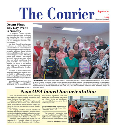 Delmarva Courier - Sep 4, 2019