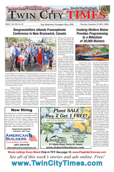 Twin City Times - Sep 12, 2019