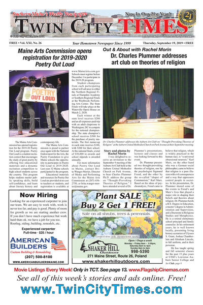 Twin City Times - Sep 19, 2019