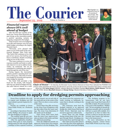 Delmarva Courier - Sep 25, 2019