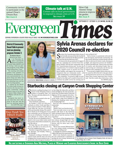 Evergreen Times - Sep 27, 2019