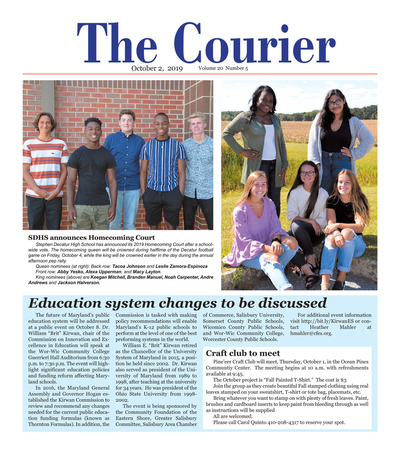 Delmarva Courier - Oct 2, 2019