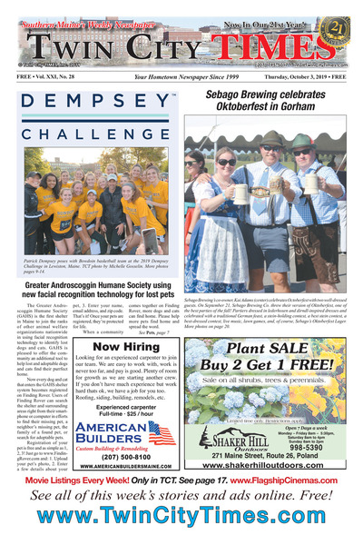 Twin City Times - Oct 3, 2019