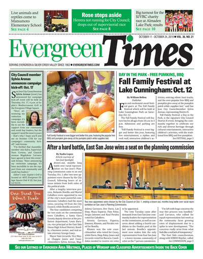 Evergreen Times - Oct 11, 2019