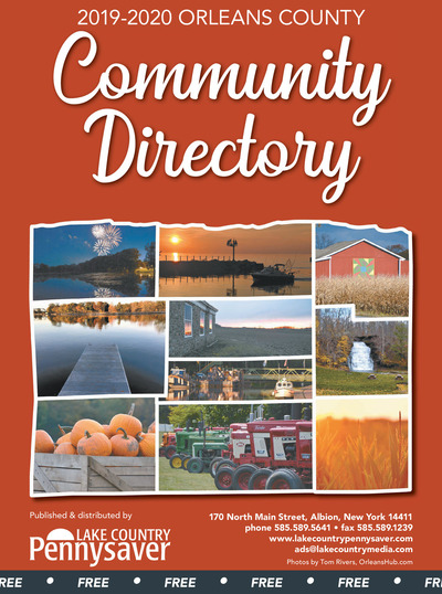 Lake Country Pennysaver - 2019-2020 Orleans County Community Directory