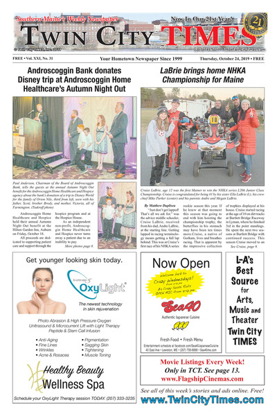 Twin City Times - Oct 24, 2019