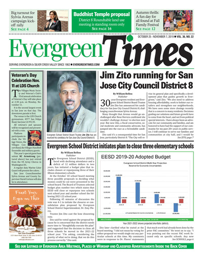 Evergreen Times - Oct 25, 2019