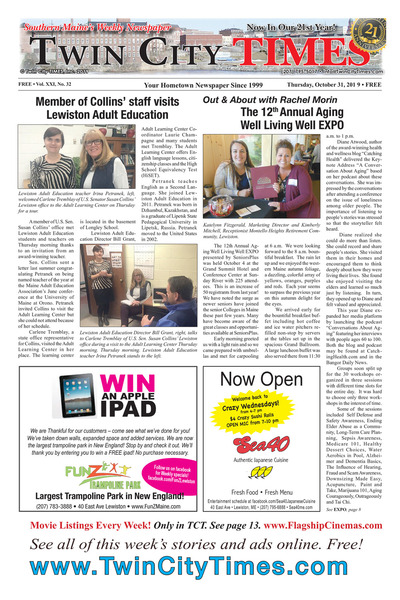 Twin City Times - Oct 31, 2019