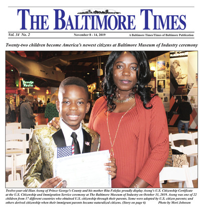 Baltimore Times - Nov 8, 2019