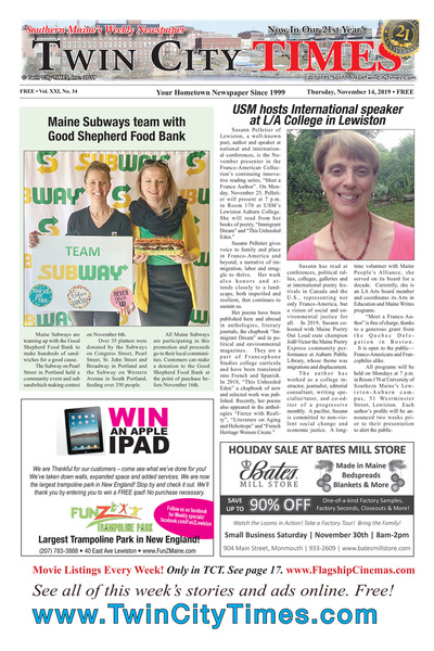Twin City Times - Nov 14, 2019