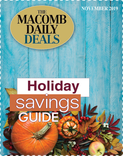 Macomb Daily - Special Sections - Holiday Savings Guide - Nov 2019 - November 2019