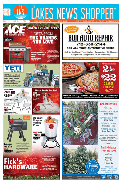 Lakes News Shopper - Nov 19, 2019
