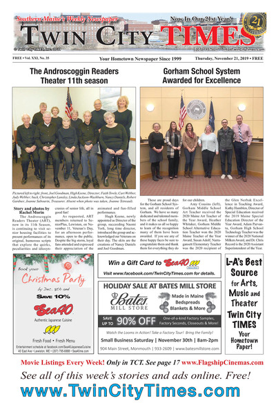Twin City Times - Nov 21, 2019