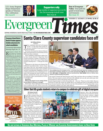 Evergreen Times - Nov 22, 2019