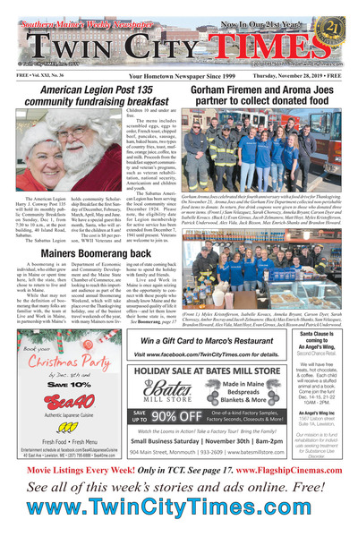 Twin City Times - Nov 28, 2019