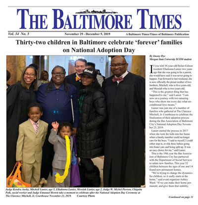 Baltimore Times - Nov 29, 2019