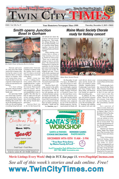Twin City Times - Dec 5, 2019