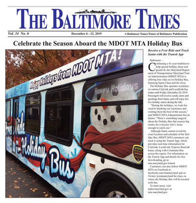 Baltimore Times - Dec 6, 2019