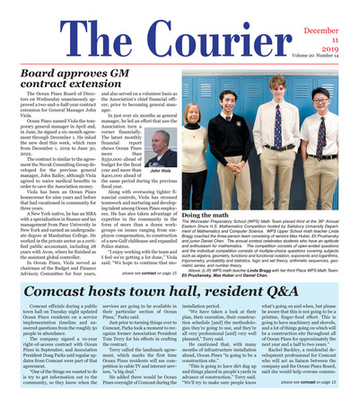 Delmarva Courier - Dec 11, 2019